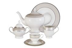 """Чайный сервиз 21 предмет на 6 персон """"Антуанетта"""" Emerald"""