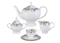 """Чайный сервиз 21 предмет на 6 персон """"Эстель"""" Emerald"""