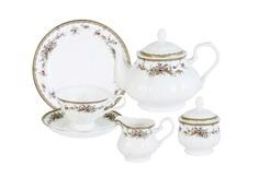 """Чайный сервиз 21 предмет на 6 персон """"Изабелла"""" Emerald"""