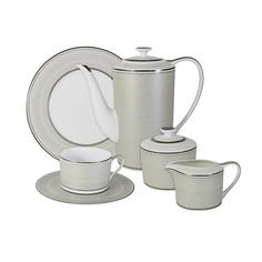 """Чайный сервиз 21 предметов на 6 персон """"Маренго"""" Naomi"""