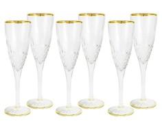 """Набор бокалов для шампанского """"Уэльс"""" (6 шт) Same"""