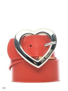 Ремни Love Moschino