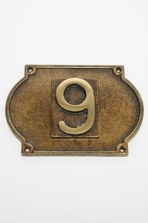 Цифра на дверь и подложка Stilars