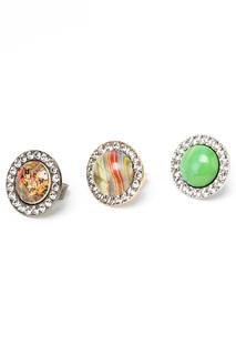 Набор 3 кольца I Pavoni