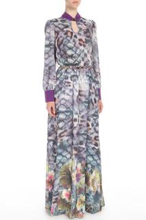 Платье с ремнем Polin