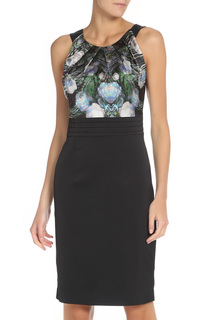 Приталенное платье с оригинальным вырезом Stella Di Mare