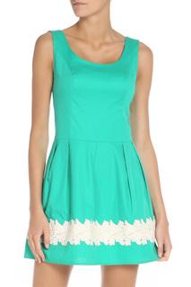 Короткое платье без рукавов Stella Di Mare