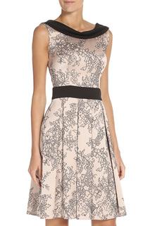 Платье с контрастной отделкой Stella Di Mare