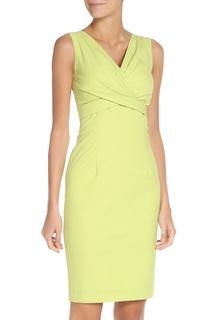 Облегающее платье с V-образным вырезом Stella Di Mare