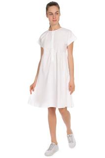 Свободное платье на пуговицах MODA MILANO