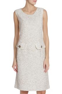 Приталенное платье с накладными карманами Caterina Leman