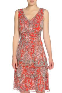 Шифоновое платье с поясом Betty Barclay