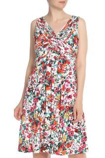Платье с цветочным принтом, с запахом Apanage