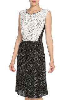 Стильное платье с контрастным рисунком STEILMANN