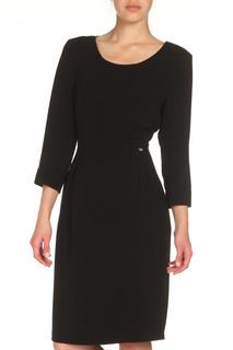 Приталенное платье с застежкой на поясе Tuzzi
