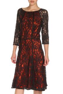 Платье из гипюра с рукавами 3/4 Apanage