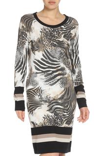 Платье с леопардовым принтом Apanage
