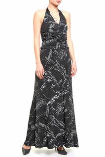 Длинное платье-сарафан с завязкой Caractere