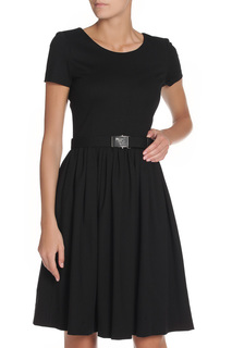 Платье с ремнем Prada