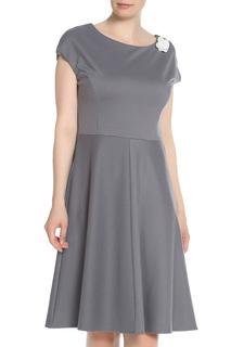 Повседневное платье с цветком UNQ