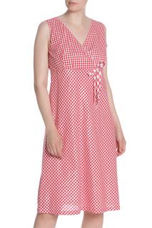 Платье полуприлегающее в клетку MODART
