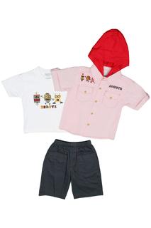 Футболка, рубашка, шорты Ohm&Emmy Ohm&Emmy