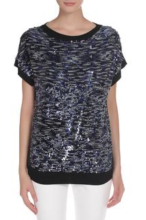 Блуза с пайетками PINKO TAG