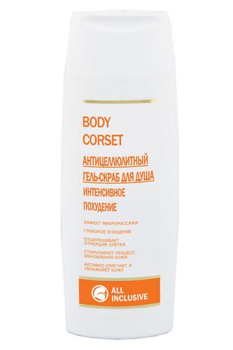 Body corset гель-скраб All Inclusive