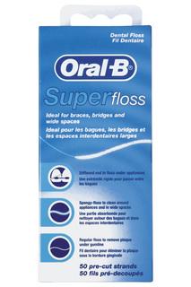 Зубная нить 50 м ORAL B