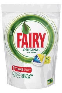 Капсулы для мытья посуды 60 шт FAIRY