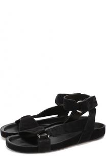 Замшевые сандалии с ремешком на щиколотке Isabel Marant Etoile