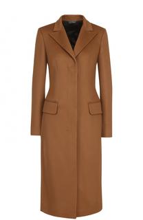 Однобортное приталенное пальто из кашемира Colombo