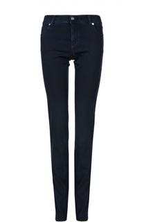 Хлопковые джинсы-дудочки Armani Collezioni