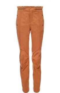Укороченные джинсы-скинни с завышенной талией Chloé