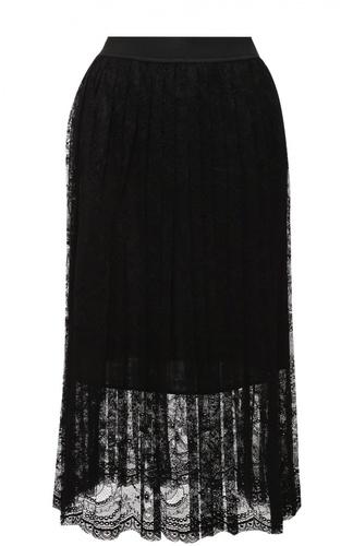 Полупрозрачная кружевная юбка-миди Escada Sport