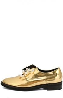 Кожаные ботинки Anello с декорированными полукольцами Coliac