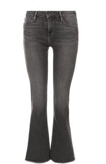 Расклешенные укороченные джинсы с бахромой Frame Denim