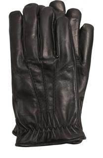 Кожаные перчатки с подкладкой из кашемира Brioni