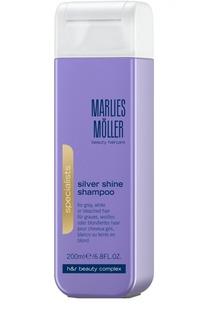 Шампунь для блондинок против желтизны волос Marlies Moller