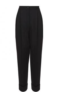 Укороченные шерстяные брюки-бананы Dolce & Gabbana