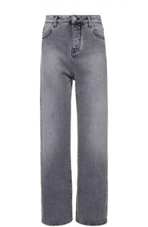 Укороченные широкие джинсы с завышенной талией Two Women In The World