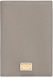 Кожаная обложка для документов Dolce & Gabbana