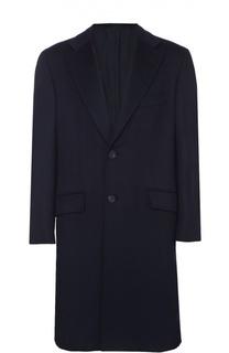 Кашемировое однобортное пальто Brioni