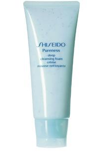 Пенка для глубокого очищения кожи Pureness Shiseido