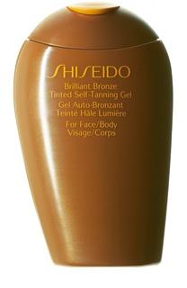 Гель-автозагар ускоренного действия для лица и тела Suncare Shiseido