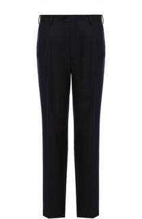 Классические брюки из смеси шерсти и шелка Brioni