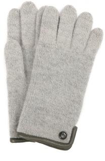 Вязаные перчатки с пуговицей Roeckl