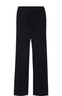 Кашемировые брюки прямого кроя с эластичным поясом Victoria Beckham