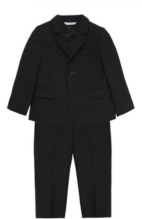 Классический костюм из шерсти Dolce & Gabbana