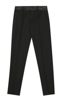 Шерстяные брюки прямого кроя Jean Paul Gaultier